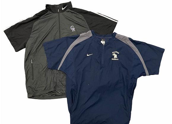 Branded Short Sleeved Pullover Jackets