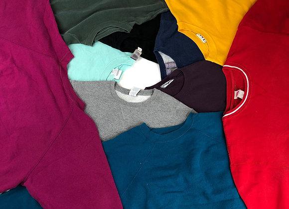 Vintage Plain Sweatshirts
