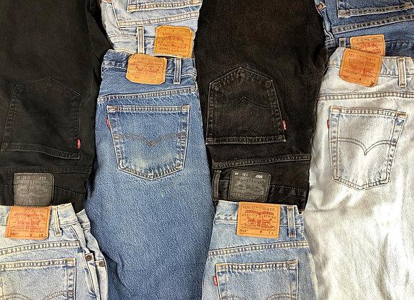 Vintage Levi's Jeans - 25KG Sack