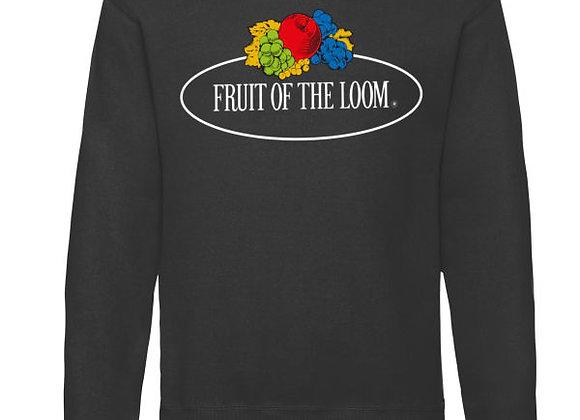 Fruit Of The Loom 'Vintage' Sweatshirt with Big Logo