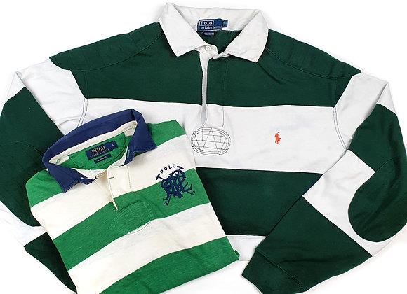 Vintage Branded Rugby Tops