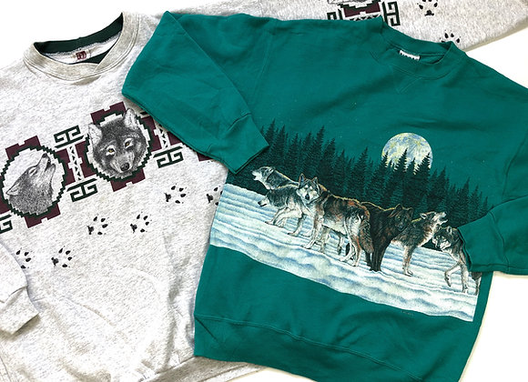 Graphic Print Sweatshirts/Hoodies