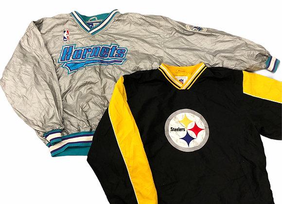 Vintage Branded Pullover Jackets