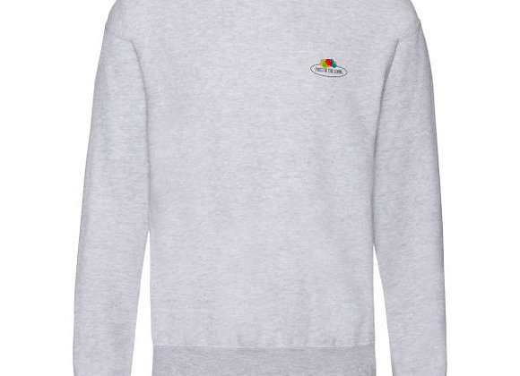 Fruit Of The Loom 'Vintage' Sweatshirt with Small Logo