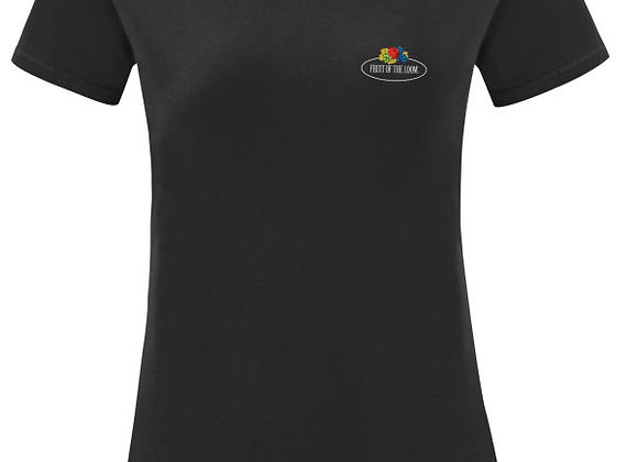 Ladies' Fruit Of The Loom 'Vintage' Tee with Small Logo