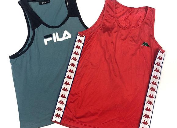 Vintage Branded Vest Tops