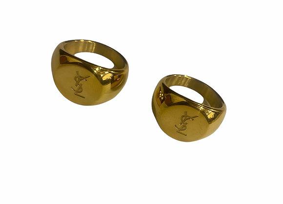 Vintage YSL Style Rings