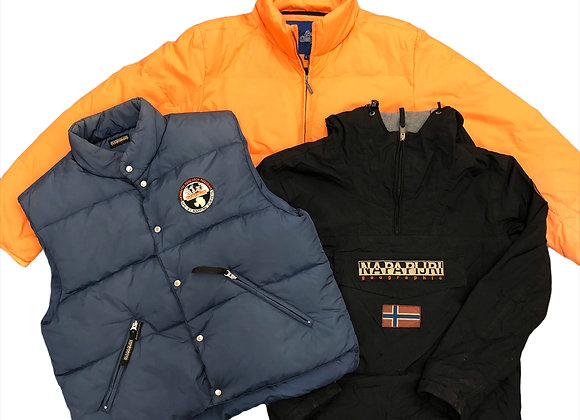 Branded Puffer Jackets