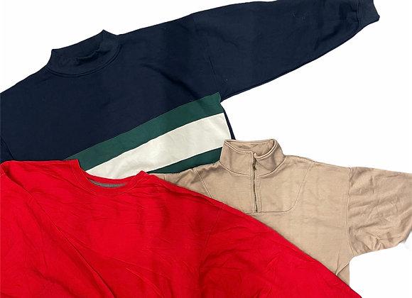 Vintage Plain Sweatshirts X35