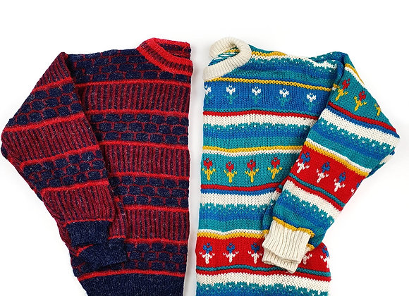 Cosby Patterned Sweater - 25KG