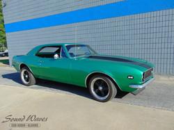 Green 67 Camaro