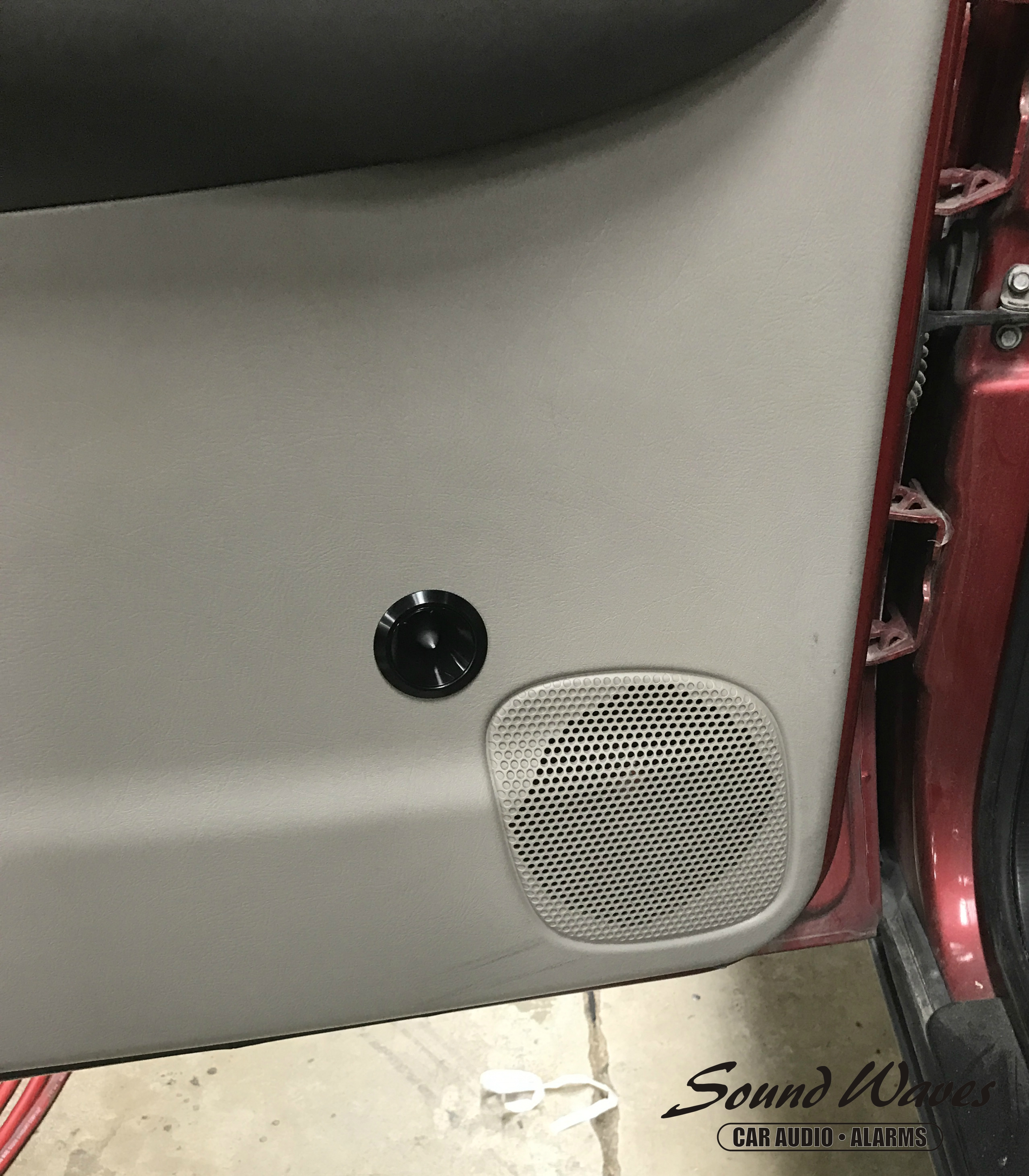Rear Tweeter Installed