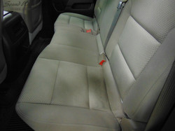 Close Up Rear Seat Before