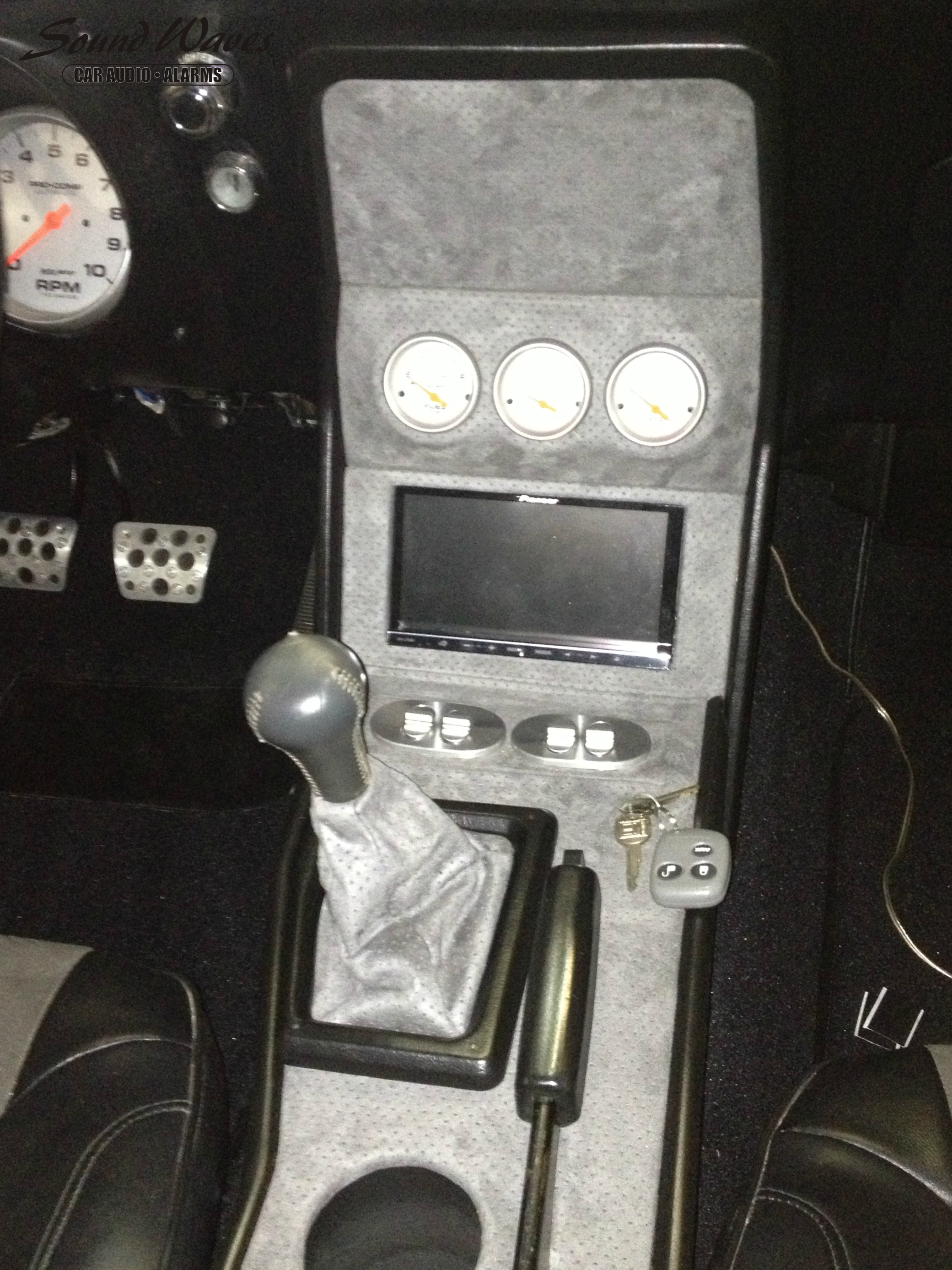 Close Up Center Console