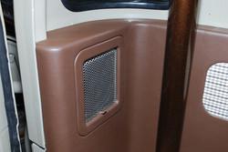 Close Up of Rear Speaker Panel