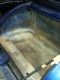Rumble seat stripped