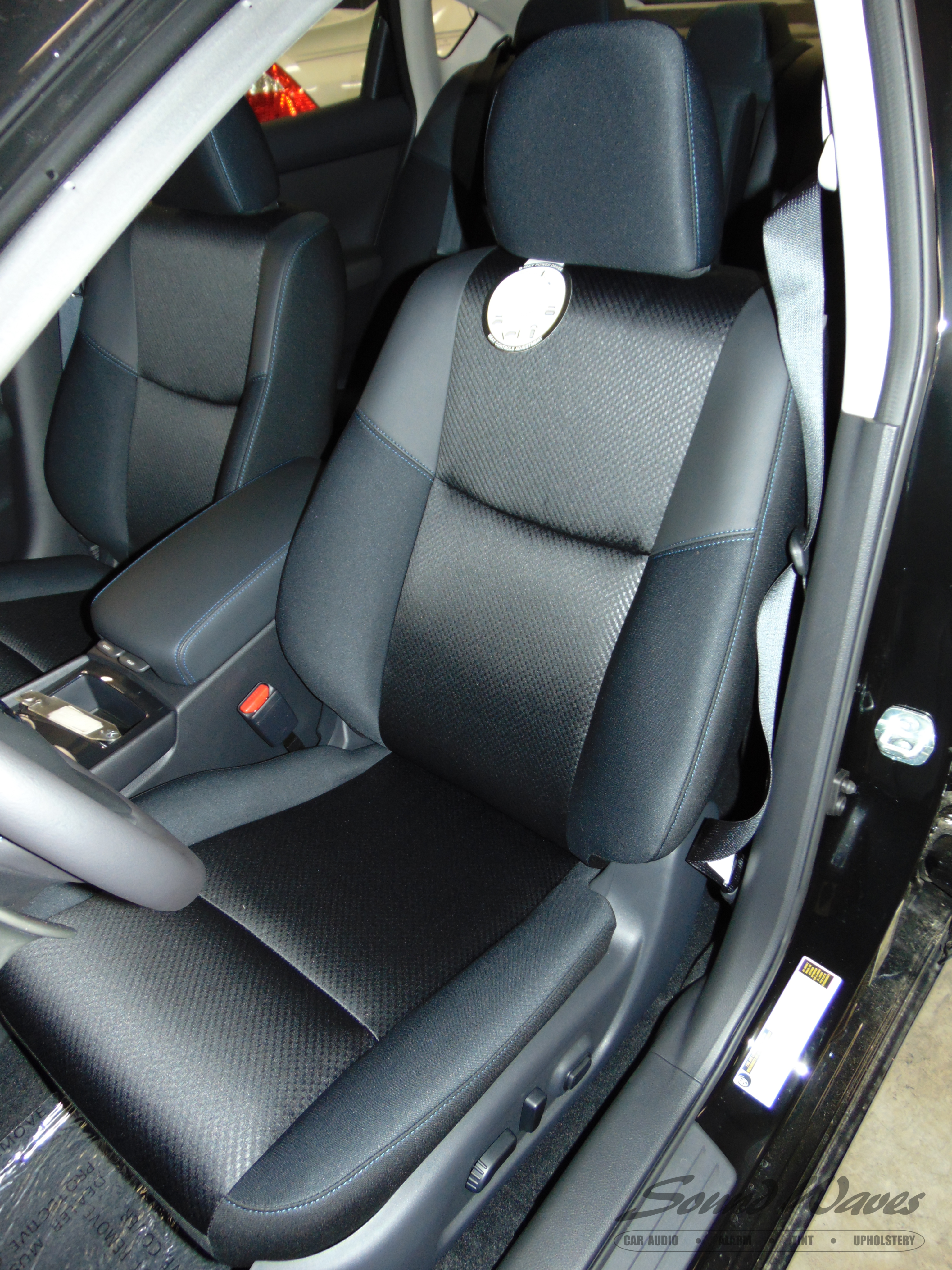 Maxima cloth seat before