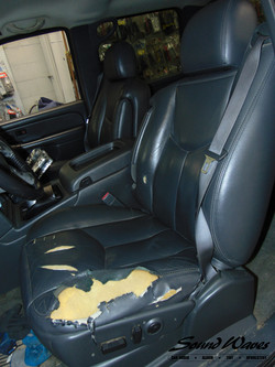 Chevy Seat Before