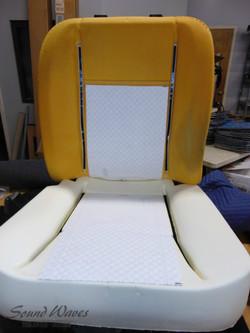 Heat pad and new foam