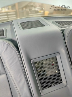 Rear Console Close Up