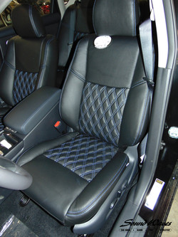 Maxima leather seat after