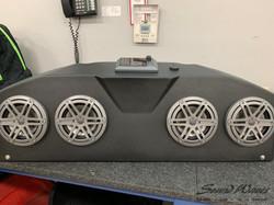 Golf Cart Overhead console