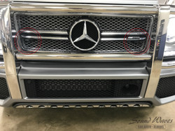 G Wagon front laser shifters