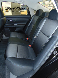 Maxima rear cloth seat before
