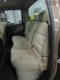 Rear Seat Before