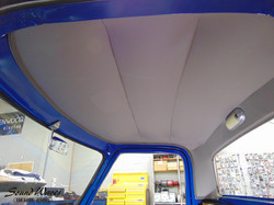F100 Headliner Installed Close up