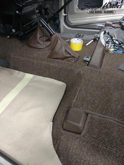Front Carpet Build 2