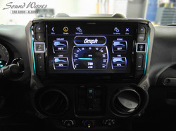 Alpine Restyle w_ on board vehicle information