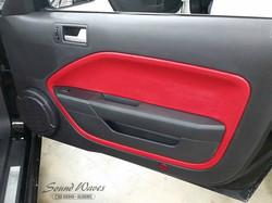 Mustang Door Panel After