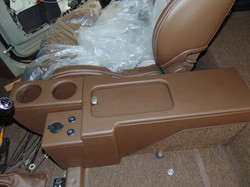 Center Console Top View