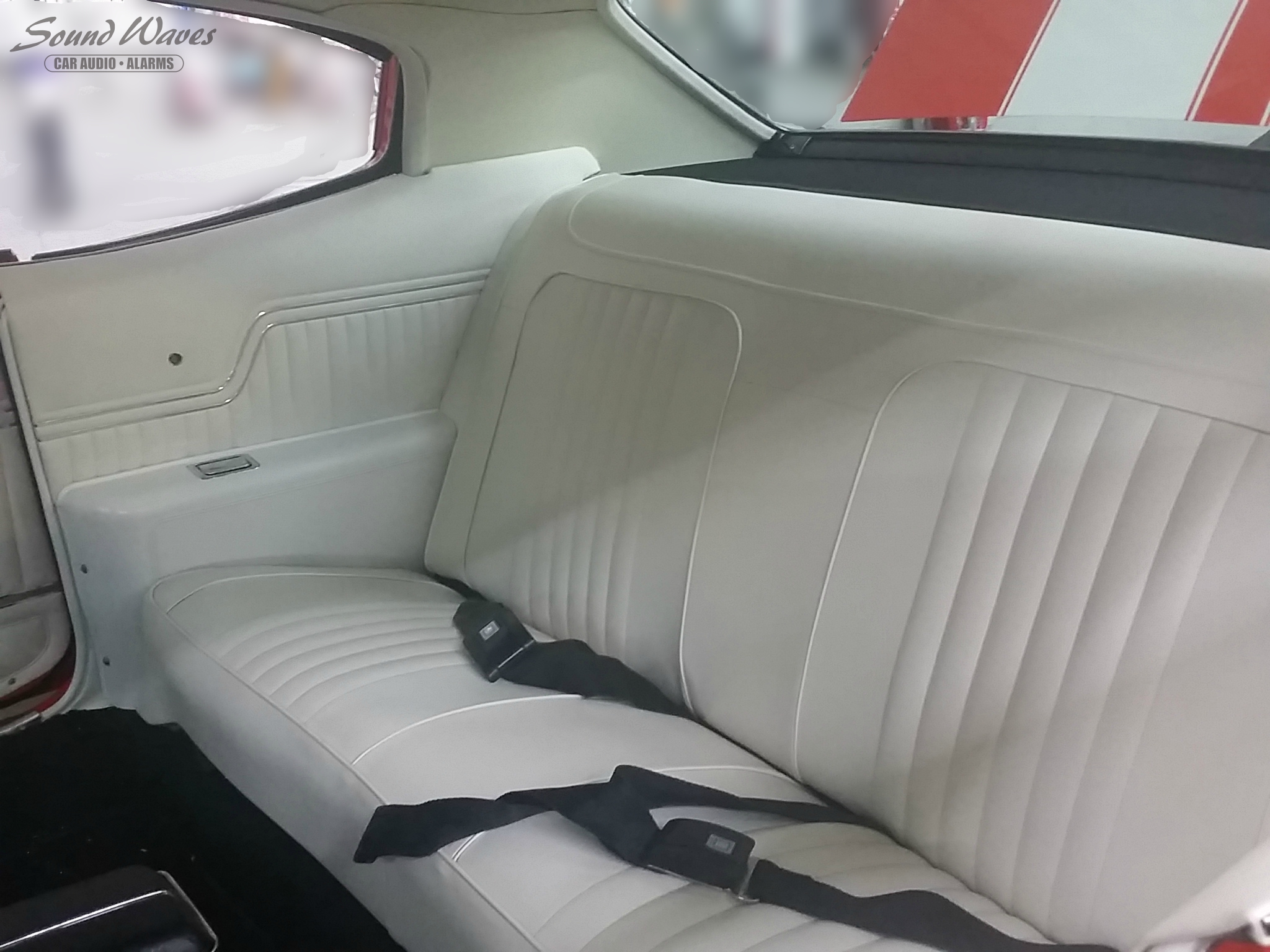 Rear Seat and Side Panels Finished