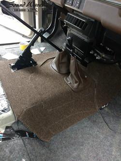 Front Carpet Build