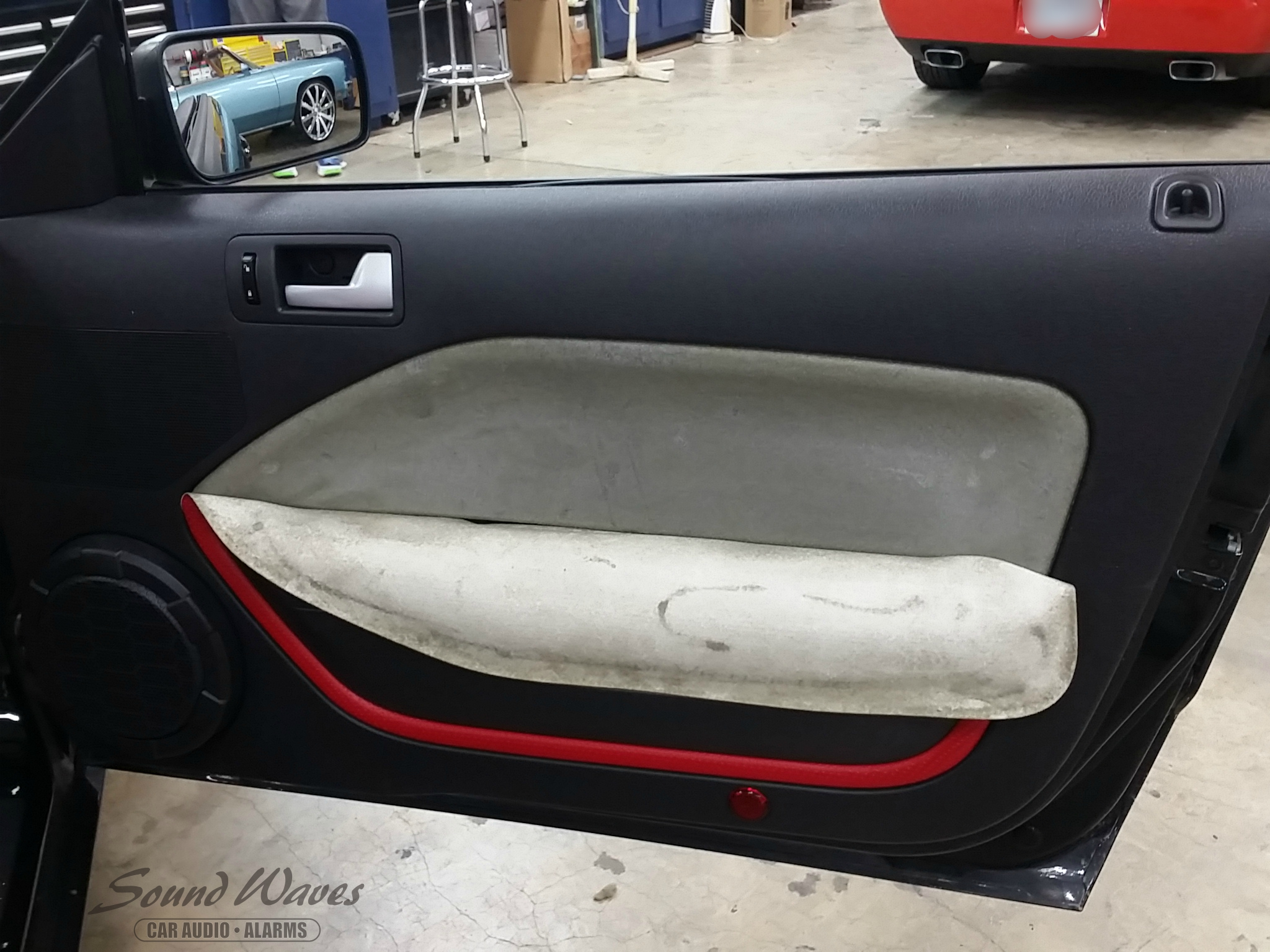 Mustang Door Panel Before