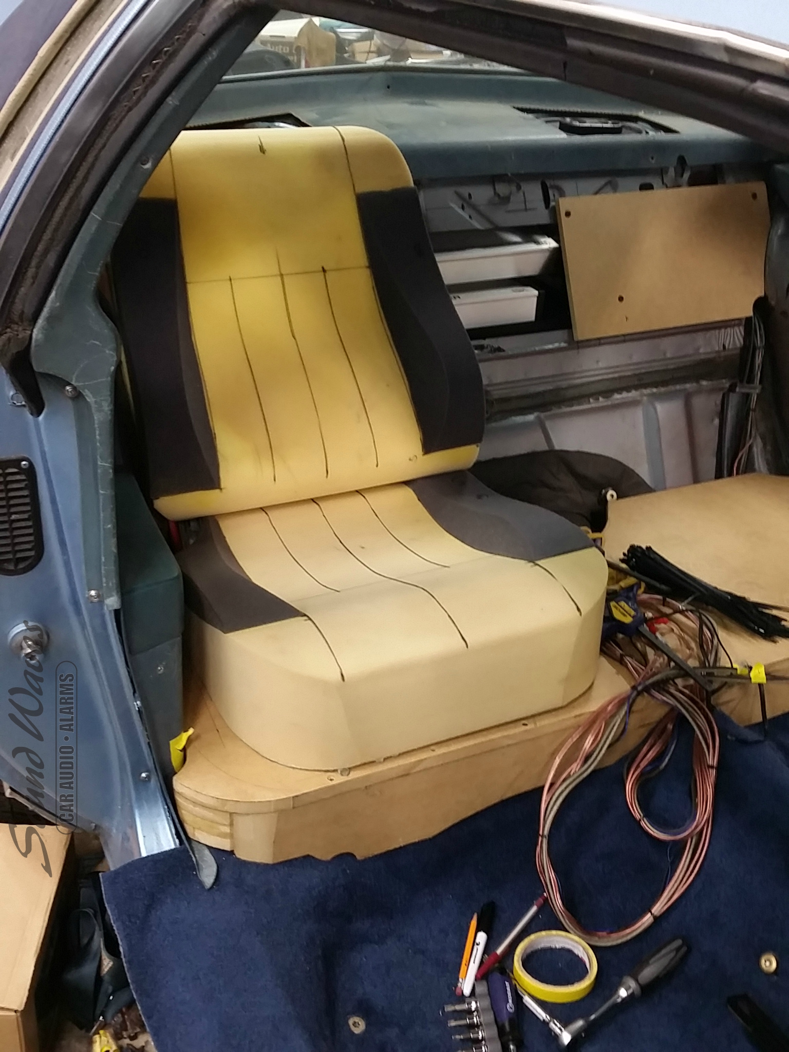 Rear Seat Build