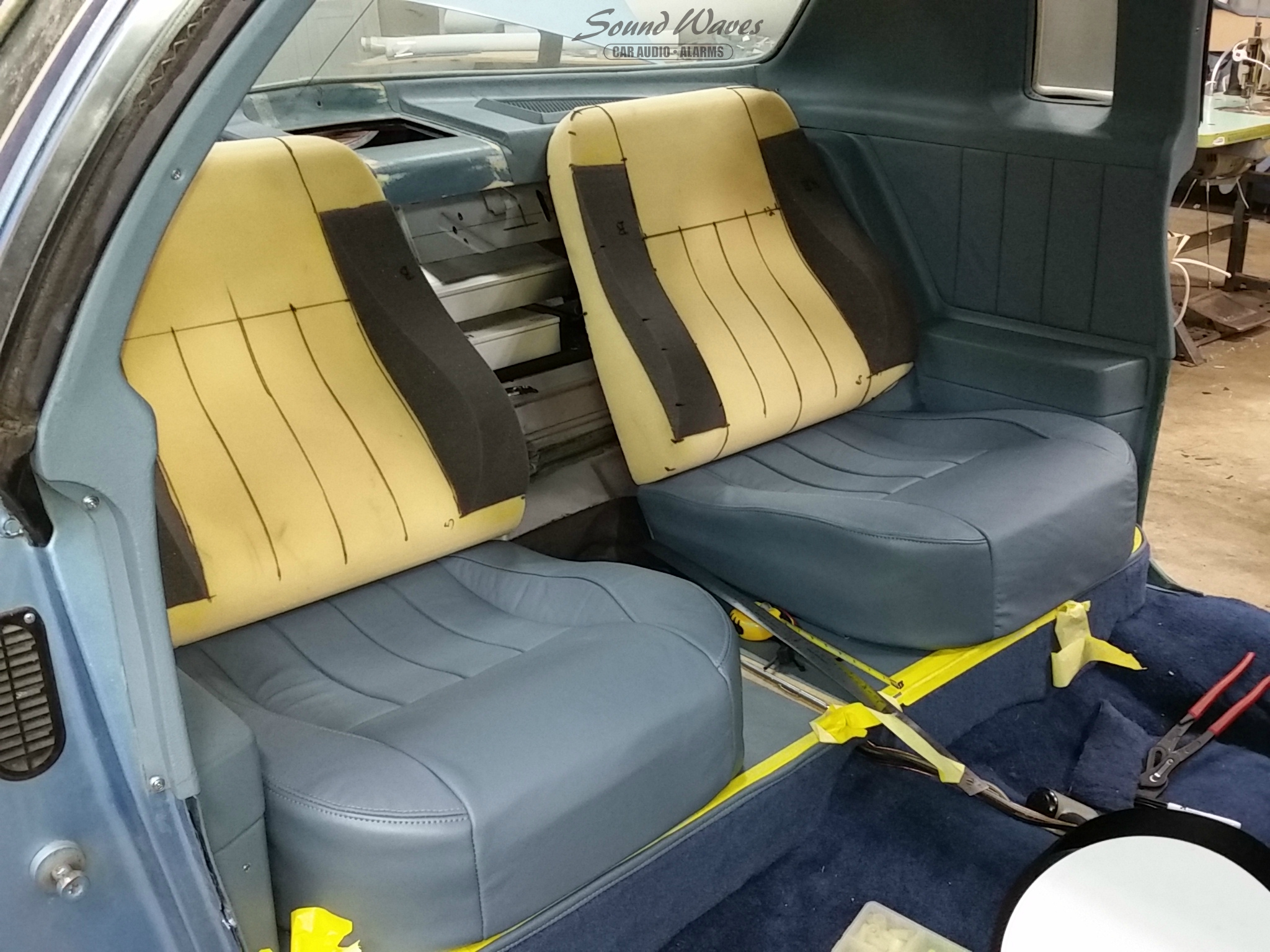 Rear Seat Build 2