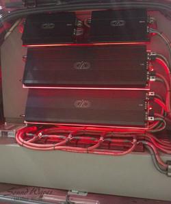 Amp Rack LEDs