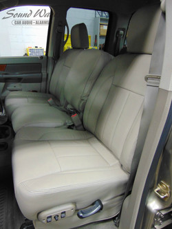 Leather seats installed 2