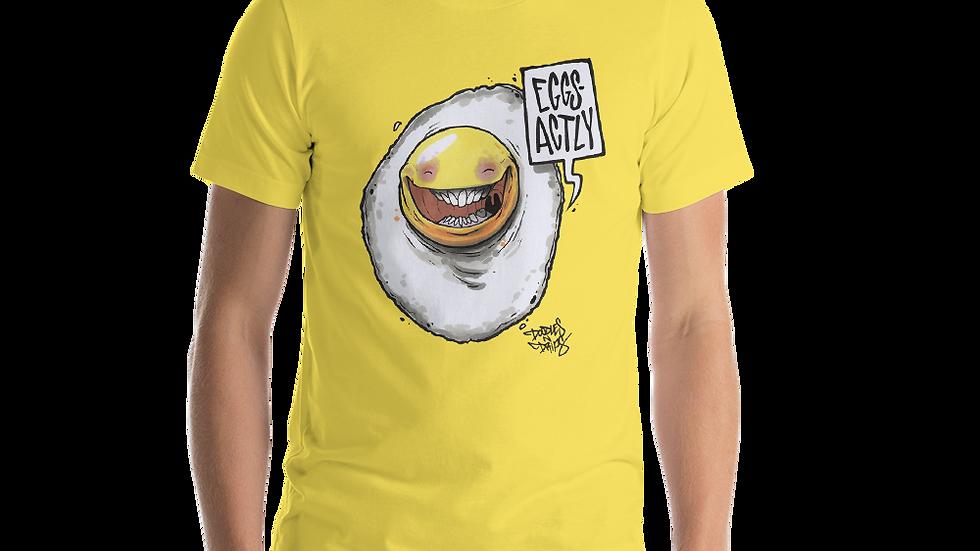 EGG SACTLY Short-Sleeve Unisex T-Shirt