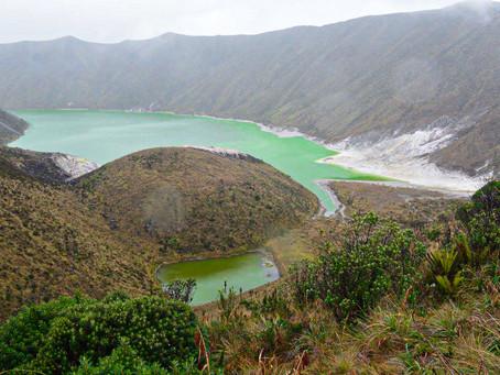 La magia  del agua verde