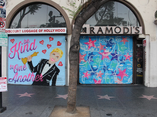 Beautify Hollywood campaign with Heineken: murals as experiential marketing and urban beautification