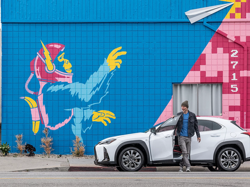 Beautify helps Lexus' crossover of art & marketing via murals