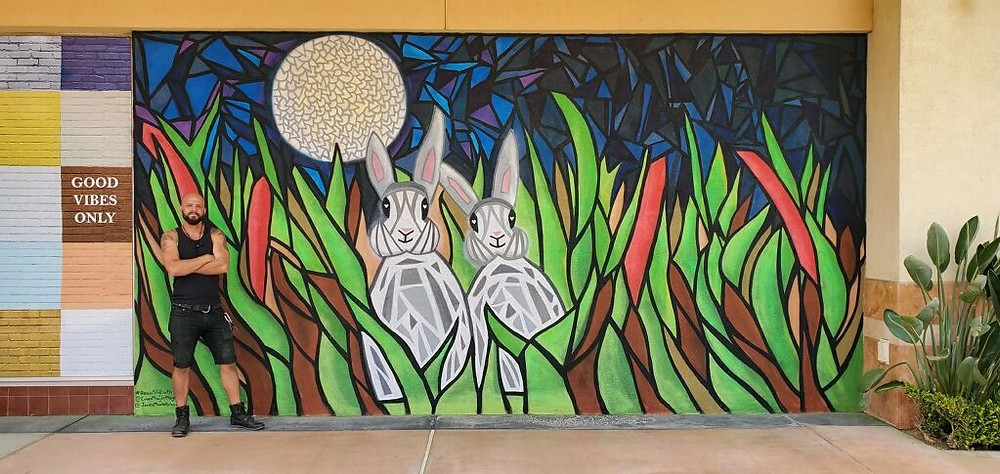 Mural in Thousand Oaks, California by Evan Meyer for NewMark Merrill