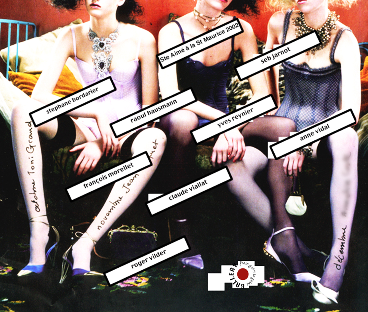 Yves Reynier Collective Exposition