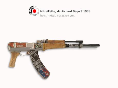RICHARD BAQUIÉ SCULPTURE 1988