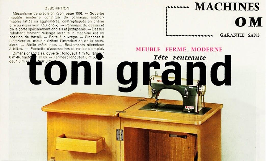 Exposition Toni Grand Invitation