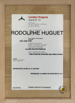 Archive Galerie Rodolphe-Huguet